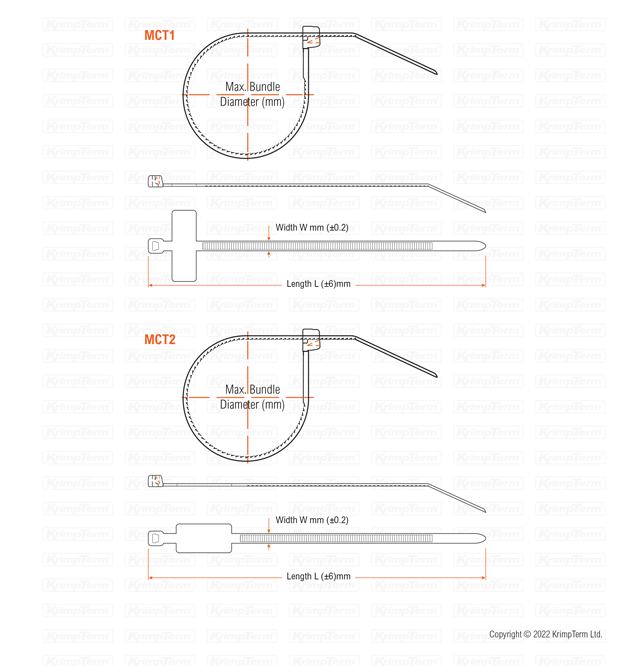 0f48361bb83d Krimpterm - Product - Cable Ties and Fixings - Marker Cable Ties